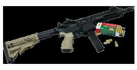 DLASK - M4 DAR 701 - konverze 9 mm