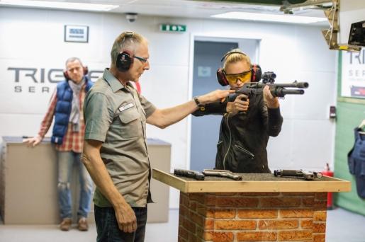 výuka střelby
