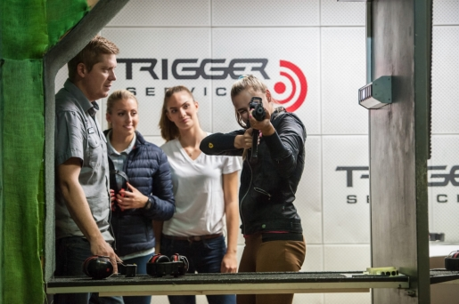 Teambuilding at the shooting range