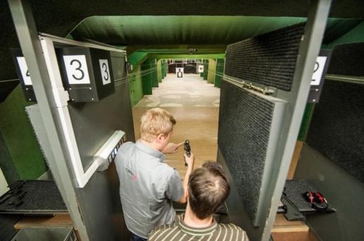 shooting range Brno