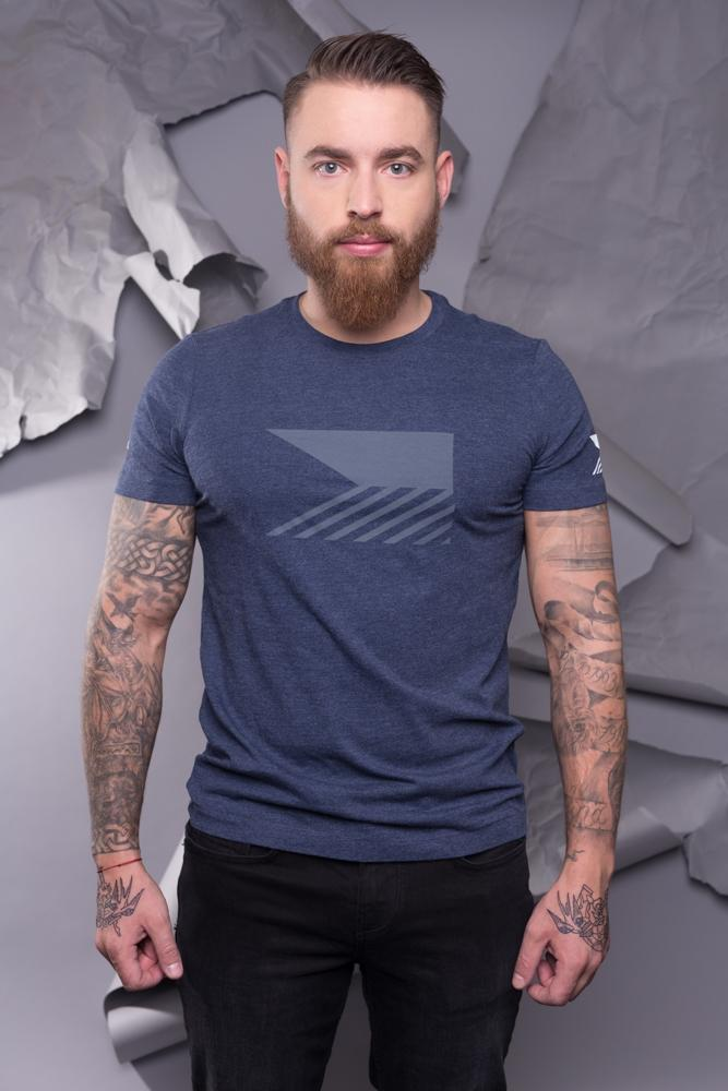T-shirt men - Navy Blue