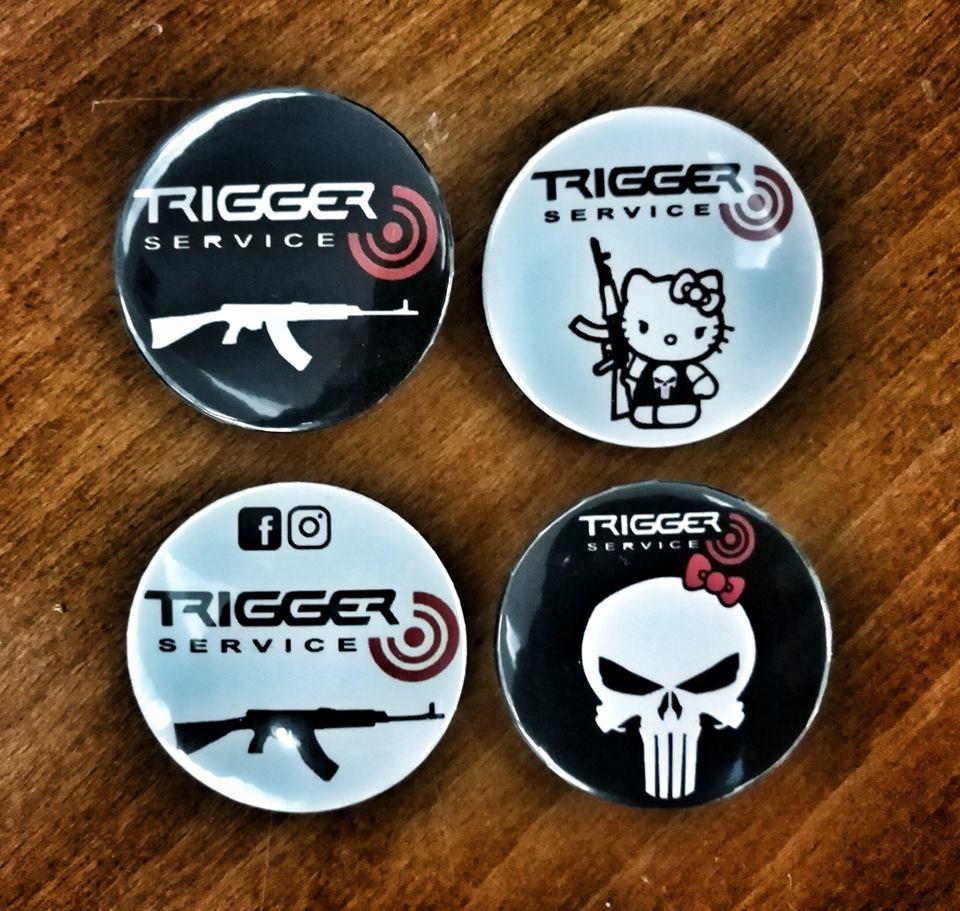 Abzeichen Trigger service