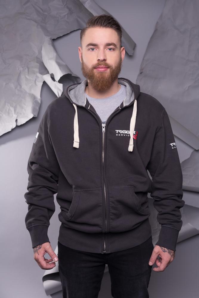 Mens Sweatshirt - Charcoral