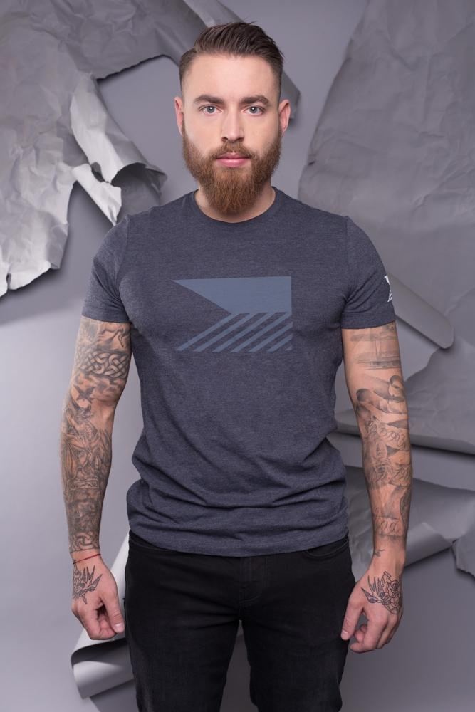 T-shirt men - Charcoal Grey