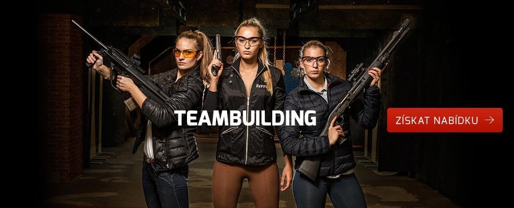Teambuilding na střelnici