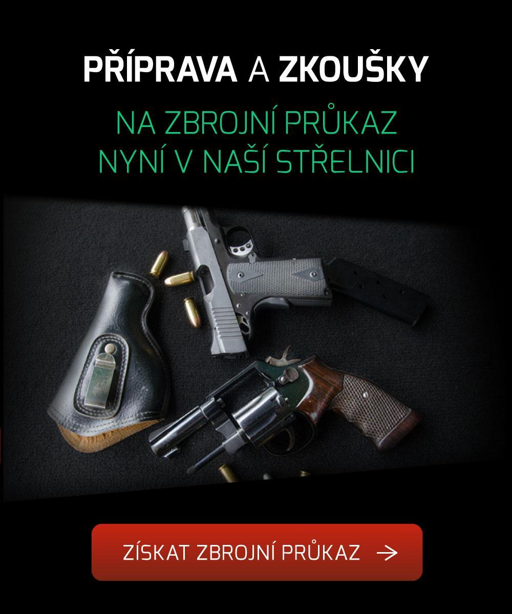 Přípravný kurz na získání zbrojního průkazu