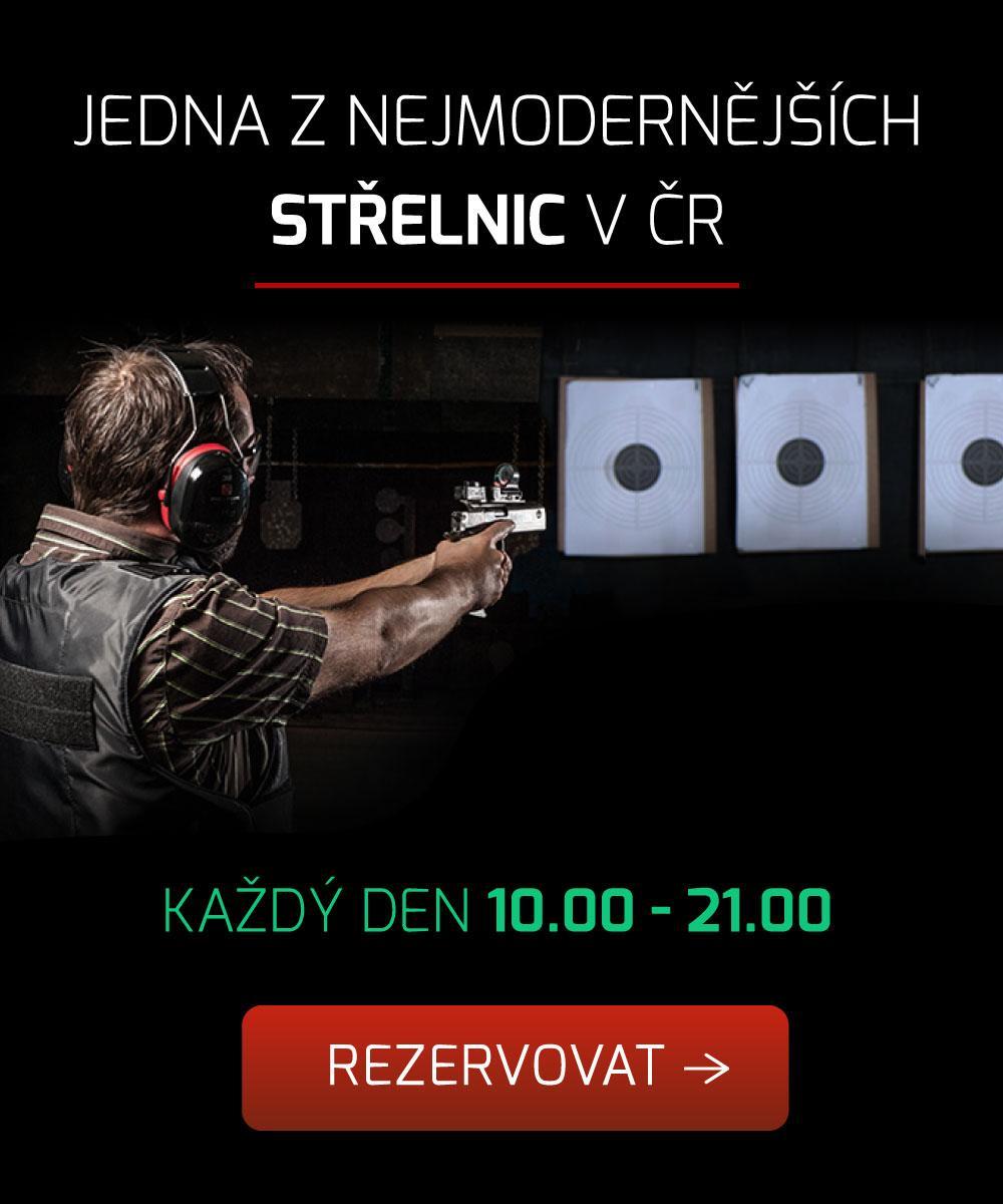 Nejmodernější střelnice v ČR